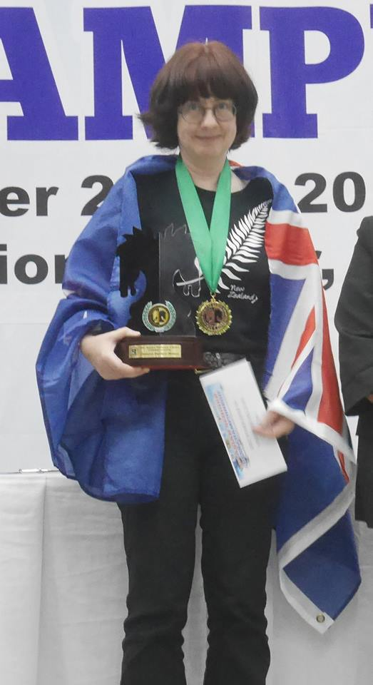 CM/WFM Helen Milligan, Asian Seniors Women's Champion
