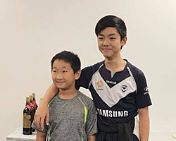 Oscar Qin and Aaron Wang