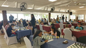 6th New Caledonia Open playing hall