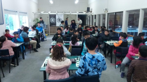 Summit Junior Chess Rapid 18th August 2019 round 4 scene