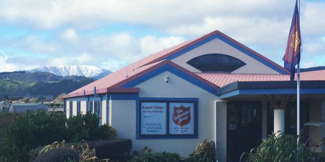 Salvation Army Kapiti Corps exterior