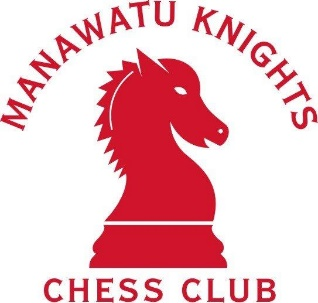 Manawatu Knights Chess Club logo