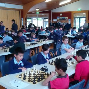 Auckland Catholic Interschools scene