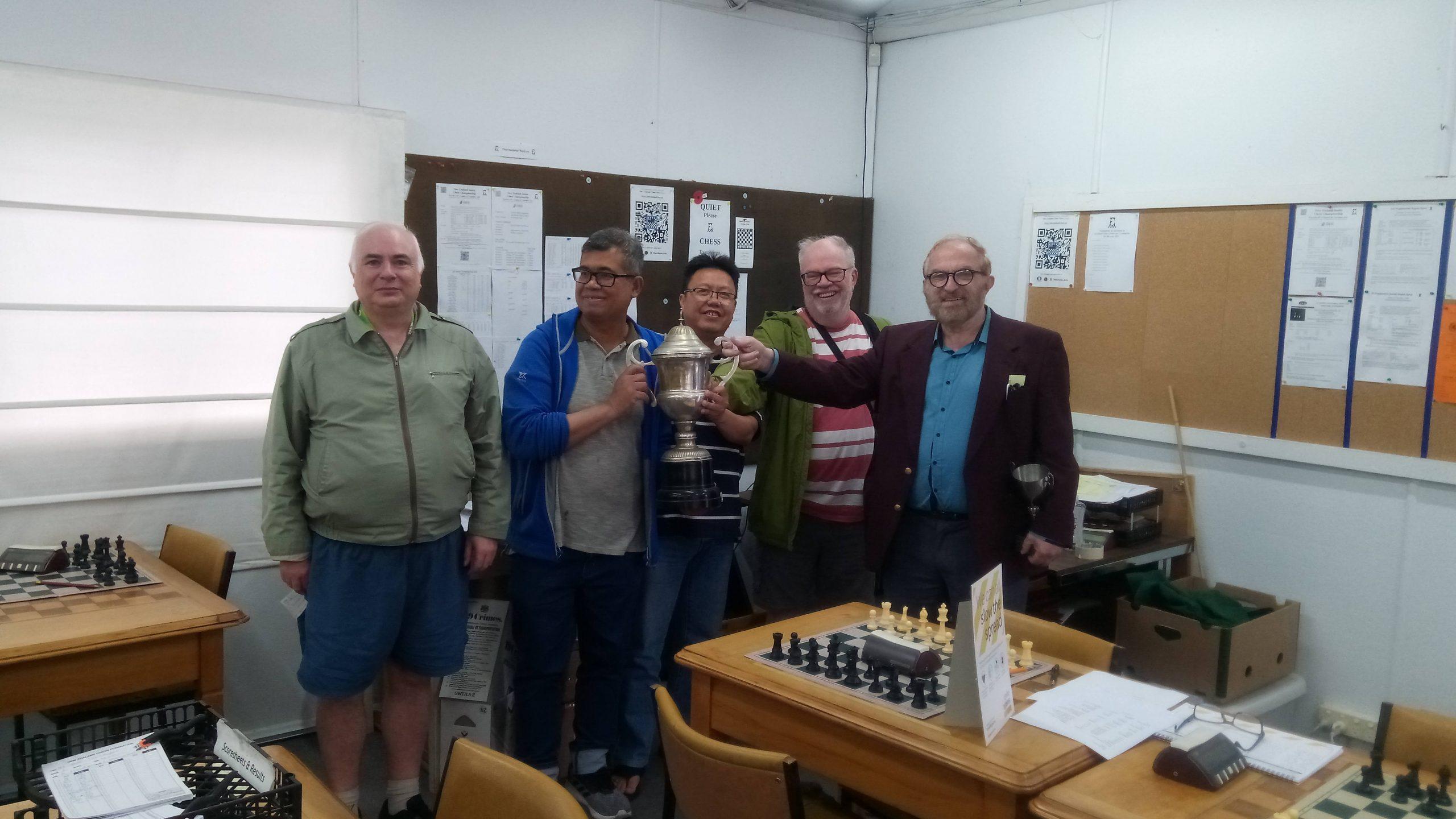 Photo of Joint NZ Seniors Champions 2020