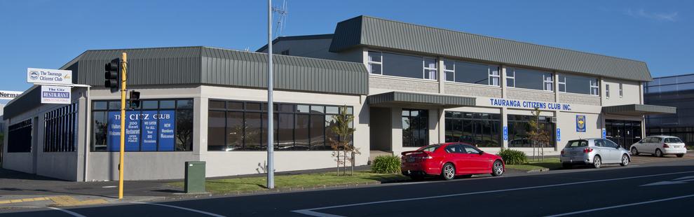 Tauranga Citizens Club front view