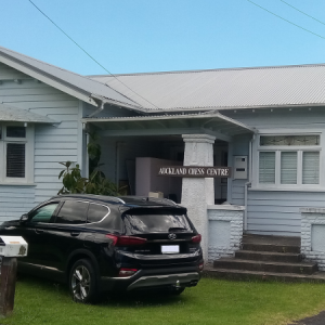 Auckland Chess Centre exterior view January 2021