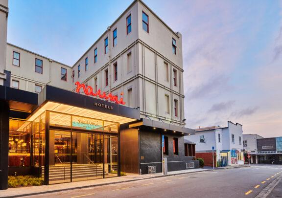 Naumi Studio Hotel Wellington exterior