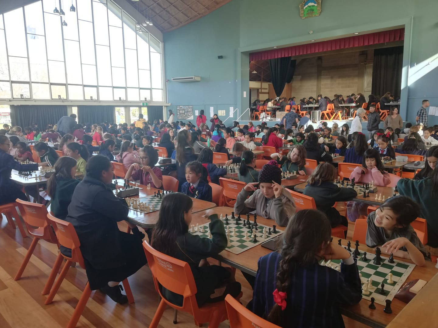 Auckland Girls Chess 2021 photo during event